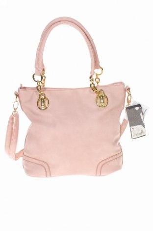 Дамска чанта Accessories, Цвят Розов, Еко кожа, Цена 19,75лв.