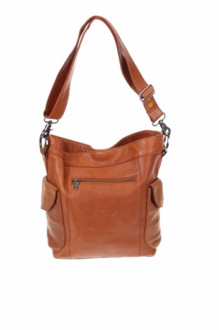 Дамска чанта NANCYBIRD, Цвят Кафяв, Естествена кожа, Цена 41,54лв.