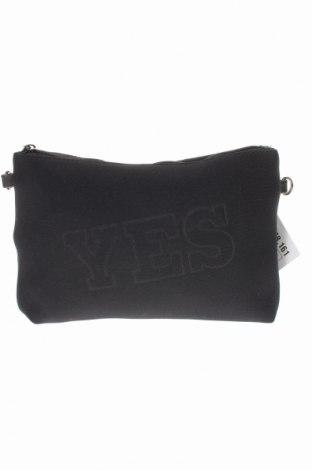 Дамска чанта Valentina, Цвят Черен, Текстил, Цена 13,26лв.