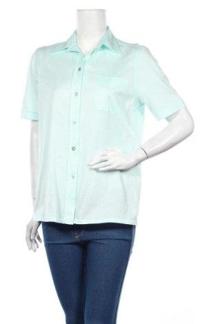 Дамска риза Peter Hahn, Размер L, Цвят Зелен, Цена 7,75лв.