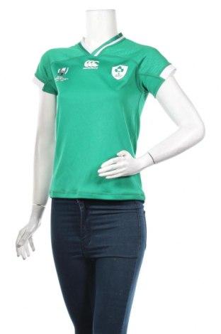 Дамска тениска Canterbury, Размер S, Цвят Зелен, Полиестер, Цена 3,54лв.