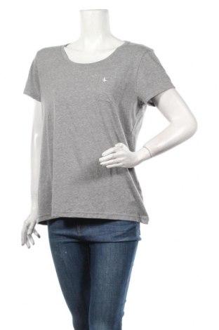 Дамска тениска Jack Wills, Размер L, Цвят Сив, 50% полиестер, 40% памук, 10% вискоза, Цена 31,85лв.