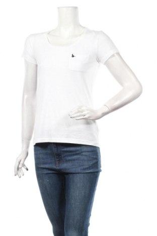 Дамска тениска Jack Wills, Размер XS, Цвят Бял, 50% полиестер, 35% памук, 15% вискоза, Цена 31,85лв.
