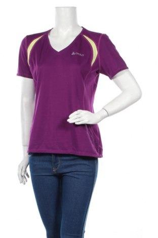 Дамска тениска Odlo, Размер M, Цвят Розов, Полиестер, Цена 32,24лв.