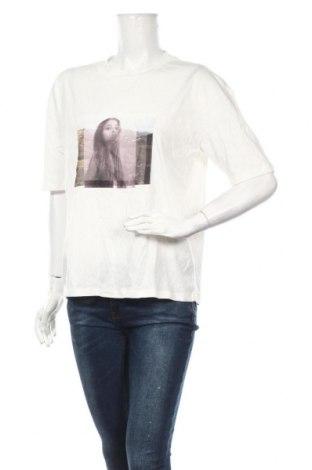 Дамска тениска Vero Moda, Размер S, Цвят Бял, Памук, Цена 16,82лв.