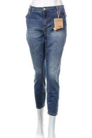 Γυναικείο Τζίν Janina Denim, Μέγεθος XL, Χρώμα Μπλέ, 69% βαμβάκι, 29% πολυεστέρας, 1% ελαστάνη, 1% ελαστάνη, Τιμή 16,96€