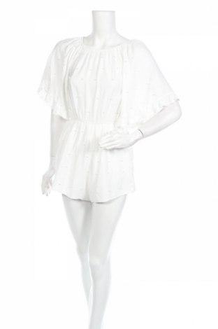 Дамски гащеризон Luc Ce, Размер M, Цвят Бял, 95% памук, 5% полиестер, Цена 42,00лв.