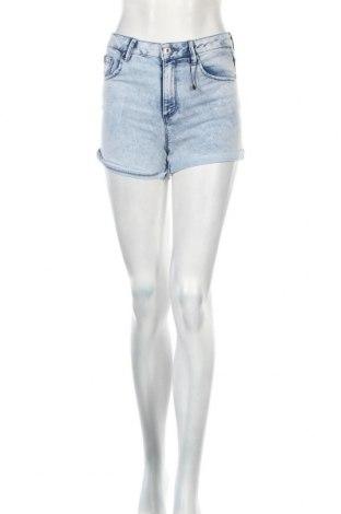 Дамски къс панталон Lefties, Размер S, Цвят Син, 78% памук, 20% полиестер, 2% еластан, Цена 16,00лв.