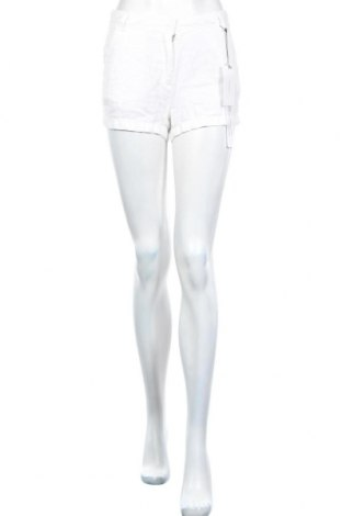 Дамски къс панталон Sita Murt, Размер M, Цвят Бял, Лен, Цена 15,13лв.