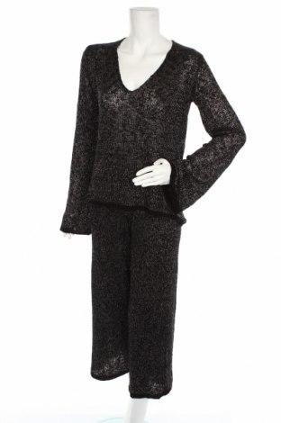 Дамски комплект Zara, Размер S, Цвят Черен, 92% акрил, 8% полиестер, Цена 24,89лв.