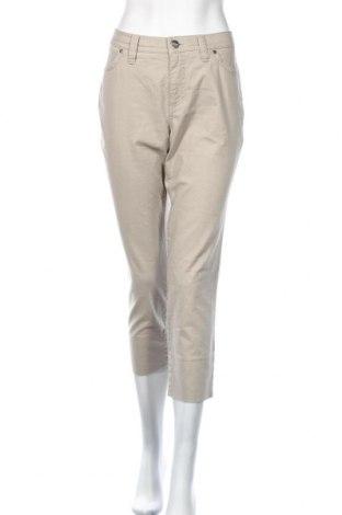 Дамски панталон Atelier GARDEUR, Размер L, Цвят Бежов, Памук, еластан, Цена 14,81лв.