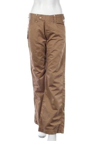 Дамски панталон Replay, Размер M, Цвят Кафяв, 25% лен, 75% памук, Цена 17,34лв.