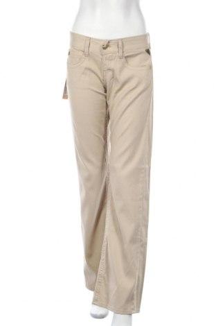 Дамски панталон Replay, Размер M, Цвят Бежов, Памук, Цена 12,37лв.