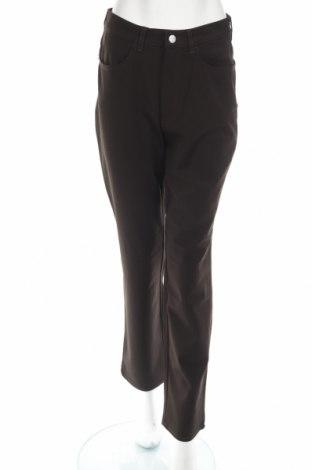 Дамски панталон Trussardi Jeans, Размер M, Цвят Кафяв, 67% полиестер, 29% вискоза, 4% еластан, Цена 23,56лв.