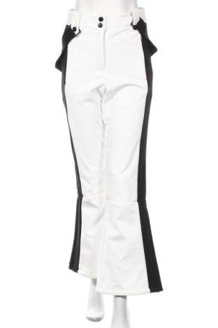 Дамски панталон за зимни спортове Topshop, Размер M, Цвят Бял, Полиестер, Цена 49,17лв.