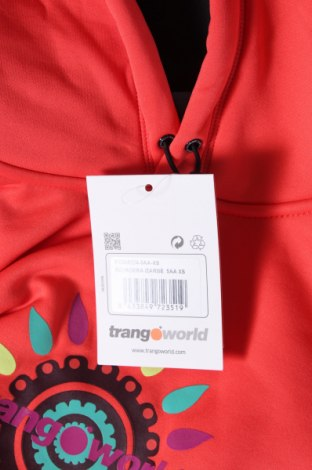 Дамски суичър Trangoworld, Размер XS, Цвят Оранжев, Полиестер, Цена 89,25лв.