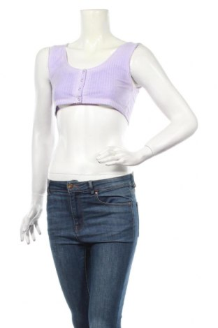 Γυναικείο αμάνικο μπλουζάκι Nasty Gal, Μέγεθος M, Χρώμα Βιολετί, 95% πολυεστέρας, 5% ελαστάνη, Τιμή 5,32€
