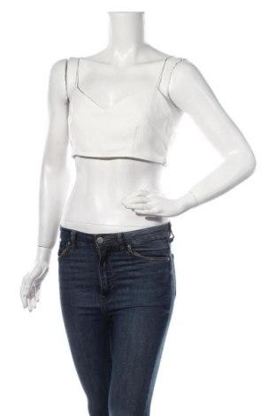 Γυναικείο αμάνικο μπλουζάκι Nasty Gal, Μέγεθος M, Χρώμα Λευκό, 100% πολυαμίδη, Τιμή 5,32€