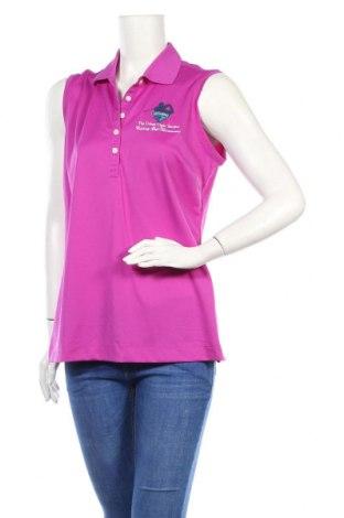 Дамски потник Nike Golf, Размер L, Цвят Розов, Полиестер, Цена 10,40лв.