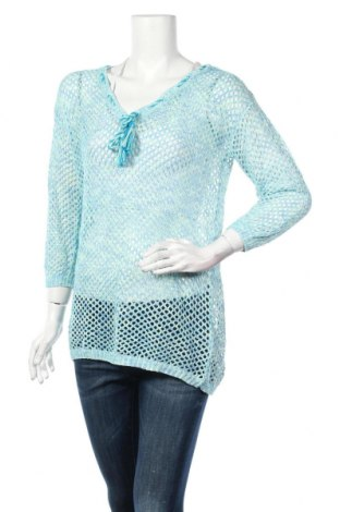 Γυναικείο πουλόβερ Colours Of The World, Μέγεθος M, Χρώμα Μπλέ, 55% πολυεστέρας, 45%ακρυλικό, Τιμή 4,48€