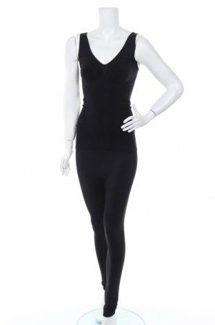 Дамски спортен комплект Emana, Размер L, Цвят Черен, 87% полиамид, 13% еластан, Цена 14,72лв.