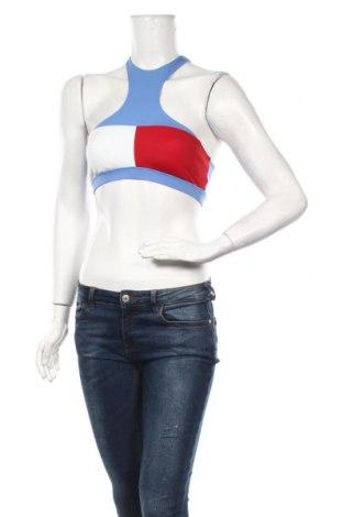Дамски спортен топ Tommy Hilfiger, Размер S, Цвят Многоцветен, 88% полиестер, 12% еластан, Цена 5,40лв.