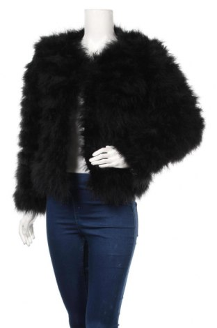 Dámska kožená bunda  Dennis Maglic, Veľkosť M, Farba Čierna, Pravé perie , Cena  163,87€