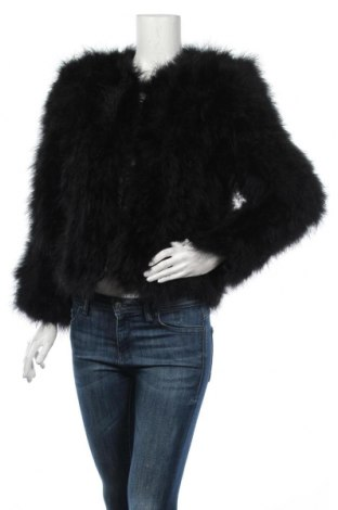 Dámska kožená bunda  Yu& Me, Veľkosť XS, Farba Čierna, Pravé perie , Cena  141,75€