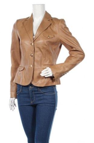 Дамско кожено яке Ambiente, Размер M, Цвят Кафяв, Естествена кожа, Цена 74,10лв.
