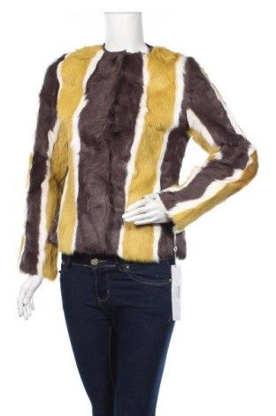 Dámska kožená bunda  Laura Bernal, Veľkosť S, Farba Viacfarebná, Prírodná kožušina , Cena  188,66€
