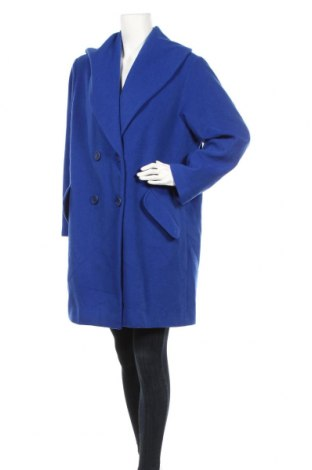 Дамско палто Ashley Brooke, Размер L, Цвят Син, 60% вълна, 20% полиамид, 20% кашмир, Цена 206,00лв.