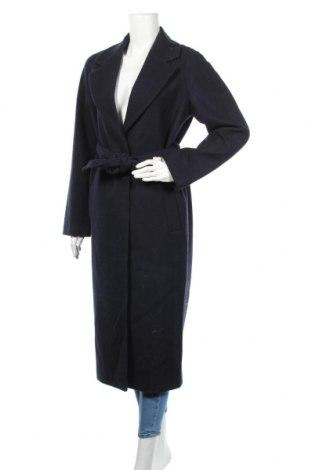 Дамско палто Edited, Размер M, Цвят Син, 80% вълна, 20% полиамид, Цена 239,00лв.