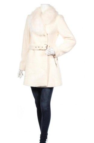 Damski płaszcz Guess, Rozmiar M, Kolor Biały, 55% poliester, 45% wełna, Cena 972,50zł