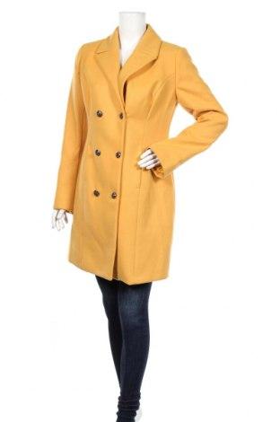 Dámsky kabát  Liu Jo, Veľkosť L, Farba Žltá, 63% polyester, 34% viskóza, 3% elastan, Cena  118,04€