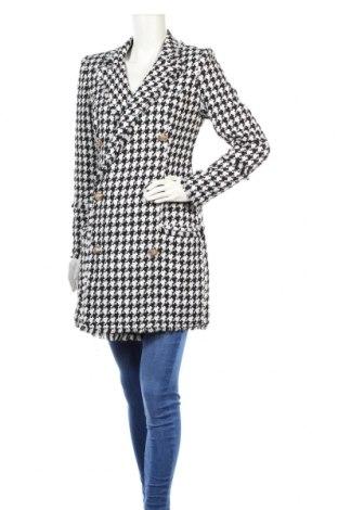 Дамско палто Michelle Keegan, Размер S, Цвят Бял, 51% полиестер, 49% акрил, Цена 96,00лв.