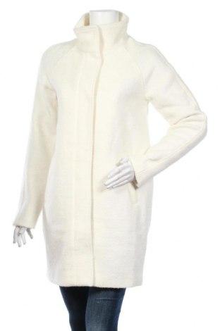 Дамско палто Object, Размер S, Цвят Бял, 70% полиестер, 30% вълна, Цена 142,00лв.