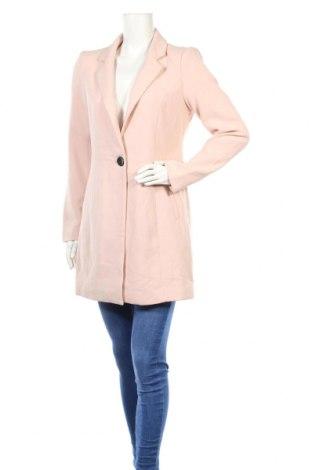 Дамско палто Only, Размер M, Цвят Розов, 70% полиестер, 25% вискоза, 5% еластан, Цена 96,00лв.