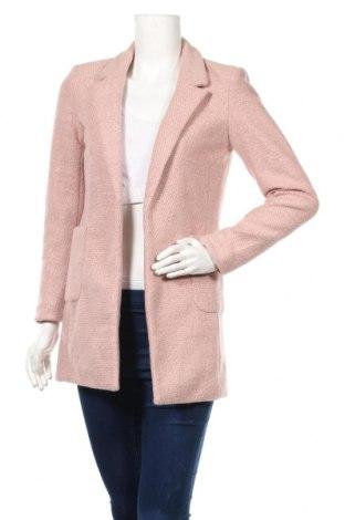 Дамско палто Only, Размер XS, Цвят Розов, Полиестер, Цена 89,00лв.