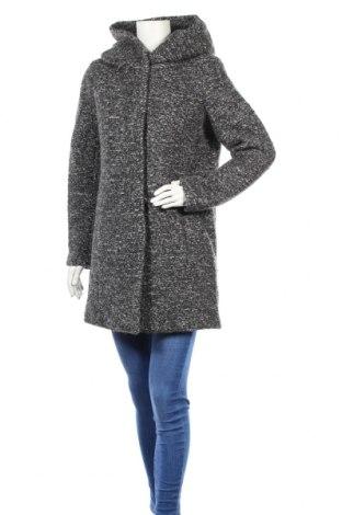Дамско палто Only, Размер L, Цвят Сив, 60% полиестер, 40% вълна, Цена 89,00лв.
