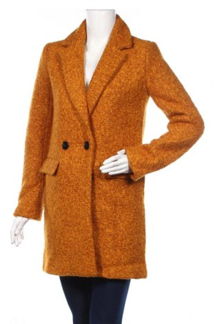Dámsky kabát  Only, Veľkosť S, Farba Žltá, 60% polyester, 40% vlna, Cena  71,65€