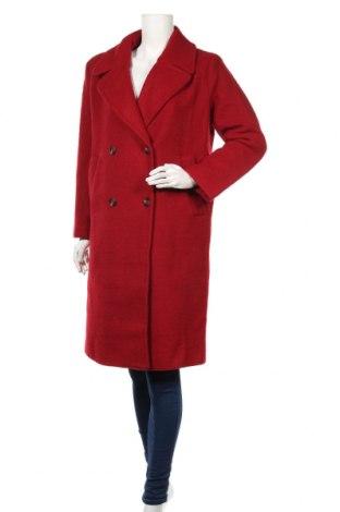 Dámsky kabát  Pepe Jeans, Veľkosť M, Farba Červená, 60% polyester, 40% vlna, Cena  200,52€