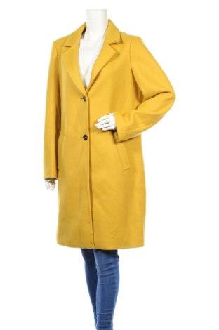 Дамско палто S.Oliver, Размер L, Цвят Жълт, 62% полиакрил, 34% полиестер, 4% вълна, Цена 149,00лв.