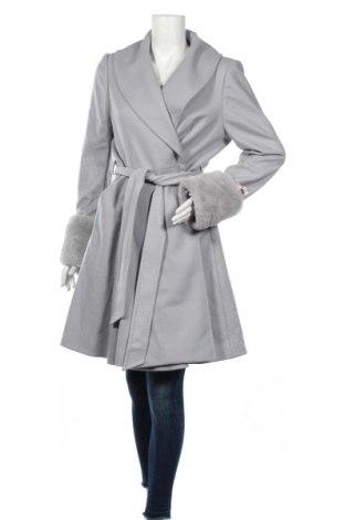 Дамско палто Ted Baker, Размер XL, Цвят Син, 75% вискоза, 20% полиамид, 5% кашмир, Цена 289,00лв.