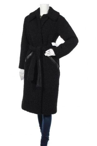 Дамско палто Topshop, Размер S, Цвят Черен, 100% полиестер, Цена 143,04лв.