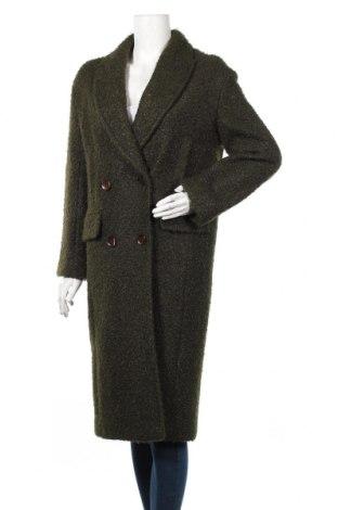 Дамско палто Topshop, Размер S, Цвят Зелен, Полиестер, Цена 143,04лв.