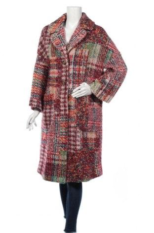 Дамско палто United Colors Of Benetton, Размер M, Цвят Многоцветен, 42% полиестер, 38% акрил, 30% вълна, Цена 186,00лв.