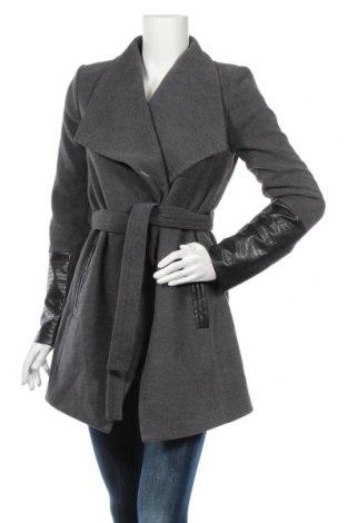 Дамско палто Vero Moda, Размер S, Цвят Сив, 89% полиестер, 10% вискоза, 1% еластан, Цена 89,00лв.