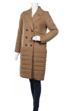 Damski płaszcz Vero Moda, Rozmiar S, Kolor Brązowy, 89% poliester, 10% wiskoza, 1% elastyna, Cena 272,50zł