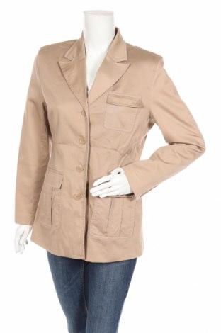 Дамско сако Strenesse, Размер M, Цвят Бежов, 96% памук, 4% еластан, Цена 25,65лв.