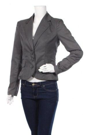 Дамско сако Vero Moda, Размер M, Цвят Сив, 85% полиестер, 13% вискоза, 2% еластан, Цена 15,30лв.